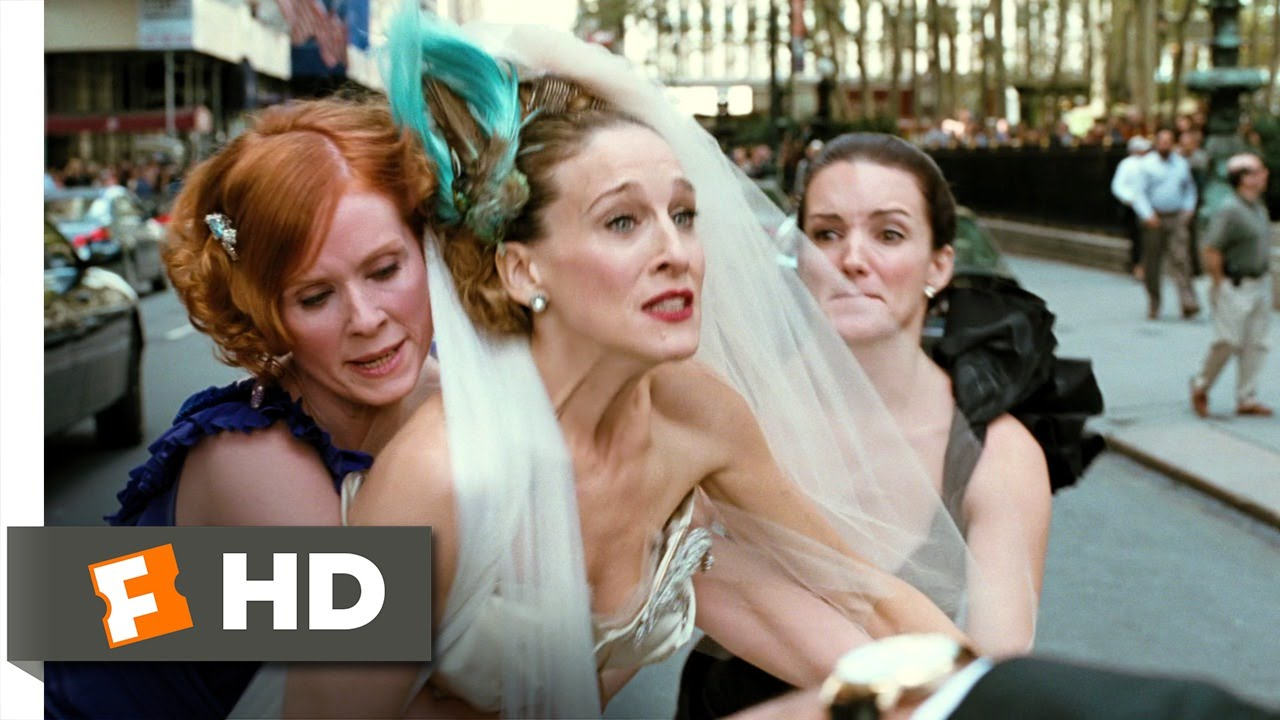 scenes from sex and the city the movie